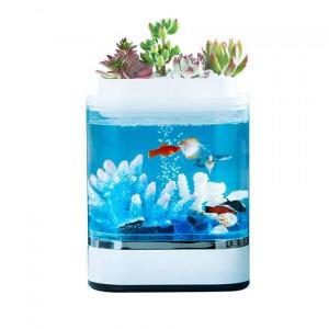 Аква-ферма Xiaomi Descriptive Geometry Mini Lazy Fish Tank (HF-JHYG005)