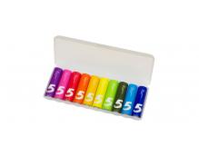 Батарейки алкалиновые Xiaomi (Mi) Rainbow ZI5 типа AA LR6 (уп.10 шт.) (Colors)