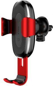 Беспроводное автомобильное зарядное устройство Baseus Gravity 10W Red (WXYL-09)