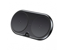 Беспроводное зарядное устройство Baseus Dual Wireless (WXXHJ-A01) на два устройства (Black)
