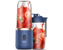 Беспроводной блендер Deerma Mini Juice Blender (NU-06) (синий)