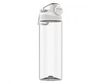 Бутылка для воды тритановая Full Life Hello Life Tritan Sports Cup 620ml белый