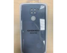 Чехол NANO силикон для Xiaomi Redmi NOTE 9/Redmi 10X-4G серый
