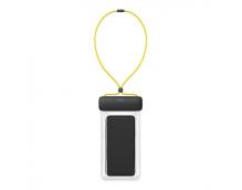 Чехол водонепроницаемый для смартфона Baseus Let's Go Slip Cover Waterproof Bag ACFSD-DGY черно-желтый