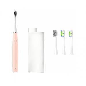 Электрическая зубная щетка Xiaomi Oclean Air 2 (4 насадки в комплекте, бесшумная) Розовый