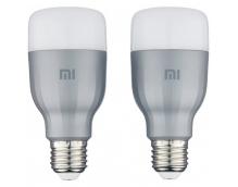 Комплект ламп Xiaomi Mi LED Smart Bulb белая и цветная (MJDP02YL)