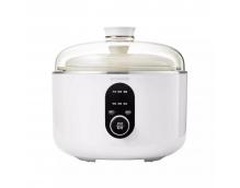 Мультиварка-пароварка Qcooker Round Small Stew Electric Cooker (4L, белый) CR-DZ01