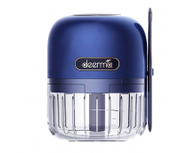 Мясорубка-измельчитель Deerma Pro Mini Garlic Stirrer Blue (DEM-JS200)