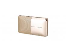 Портативная колонка-аккумулятор Momax Zonic 2 in1 Wireless Speaker Powerbank (BST3) золотистый