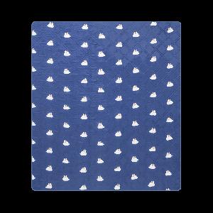 Портативный влагостойкий коврик для пикника 2x1.8m (синий)