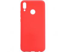 Силиконовая накладка Cherry для Huawei Y9 2019 красный