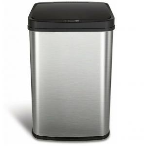 Умное мусорное ведро Xiaomi Ninestars Stainless steel Sensor Trash Can 15л (DZT-15-5)