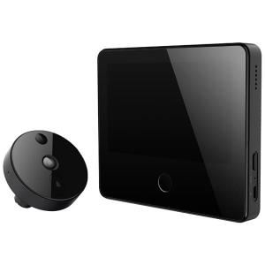 Умный видеоглазок домофон Xiaomi Mijia Smart Cat черный LSC-M01