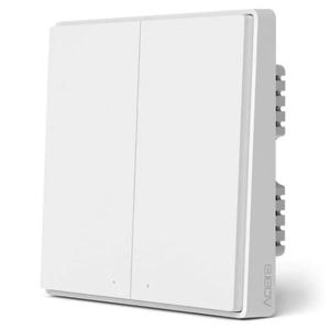 Умный выключатель Xiaomi Aqara Smart Wall Switch D1 (Двойной без нулевой линии) White (QBKG22LM)