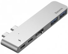 USB-концентратор Baseus Thunderbolt для MacBook Pro (Deep Space Grey)