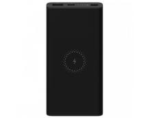 Внешний аккумулятор с поддержкой беспроводной зарядки Xiaomi Wireless Power Bank Youth 10000mAh (WPB15ZM) черный