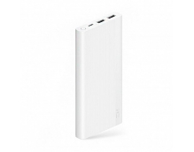 Внешний аккумулятор Xiaomi Mi Power Bank ZMI 10000 mah 18W Dual Port USB-A/Type-C Quick Charge 3.0 белый JD810