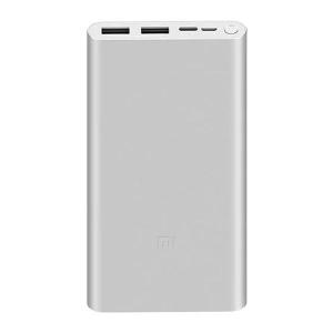 Внешний аккумулятор Xiaomi Power Bank 3 10000 mah Fast Charge 18W серебро