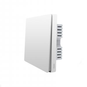 Выключатель настенный одноклавишный Aqara Wall Switch (No Neutral, Single Rocker) белый QBKG04LM