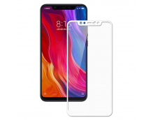 Защитное стекло Xiaomi Mi 8 (белое)