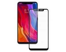 Защитное стекло Xiaomi Mi 8 (черное)