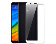Защитное стекло для Xiaomi Redmi 5 Plus белое
