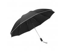 Зонт автоматический c фонариком Xiaomi Mi Zuodu Reverse Folding Umbrella Черный