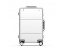 Чемодан Xiaomi 90 Points Metal Suitcase 20 дюйма (Сеебряный)