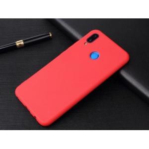 Силиконовая накладка Cherry для Huawei P20 LiTe Красный