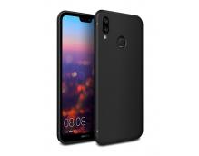 Силиконовая накладка Cherry для Huawei P20 черный