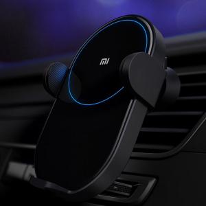Автомобильный держатель Xiaomi Wireless Car Charger (чёрный) (арт. 03848)