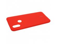 Силиконовая накладка Cherry для Xiaomi Mi-8 (2018) красный