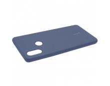 Силиконовая накладка Cherry для Xiaomi Mi-8 (2018) синий