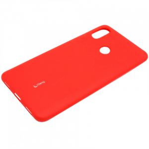 Силиконовая накладка Cherry для Xiaomi Note 6 PRO красный