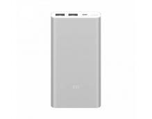Внешний аккумулятор Power Bank Xiaomi Mi Power 2 New 2USB 10000 mAh (PLM09ZM) (Silver)