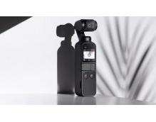 Экшн видеокамера DJI Osmo Pocket черный с осевым стабилизатором