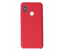 Оригинальный силиконовый чехол-бампер для Xiaomi Mi8 (Красный)