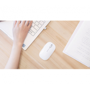 Мышь компьютерная Xiaomi Mi Wireless Mouse USB (WSB01TM) (White)