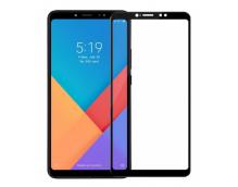 Защитное стекло Xiaomi Mi Max 3 (черное)