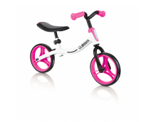 Беговел GLOBBER Go Bike (бело-розовый)