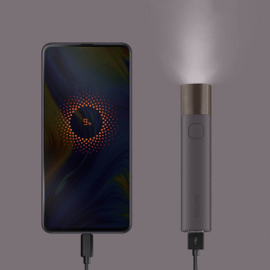 Фонарик Xiaomi Solove X3 Portable Flashlight Power Bank Purple X3