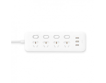 Удлинитель Xiaomi Mi Power Strip 4 розетки и 3 USB порта (MJSWSKCXB - 01QM)