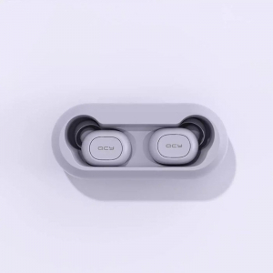 Беспроводные наушники QCY-T1C TWS Bluetooth Earbuds (фиолетовый)