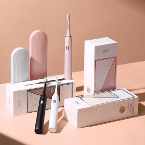 Электрическая зубная щетка Xiaomi Soocas Electric Toothbrush X3U (Футляр + 3 насадки) (Global) Розовый