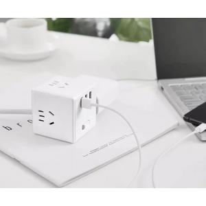 Кубик Xiaomi Mijia Rubik Power Socket Plug 3USB 2.4A Wired Vers MJCXB3-02QM