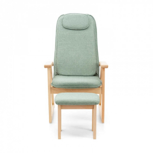 Массажное кресло + табурет Momoda Moshu Chair (серый) (SX520)