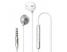 Наушники Baseus Enock H06 lateral in-ear Wire Earphone Silver (NGH06-0S)