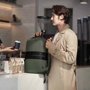 Рюкзак Xiaomi 90 Points Manhattan business casual backpack Dark Green