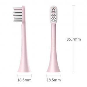 Сменные насадки для зубной щетки 2шт Xiaomi Soocas X3 Pink BH01