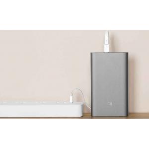 Xiaomi Mi Power Bank 2 (10000 mAh) серебристый